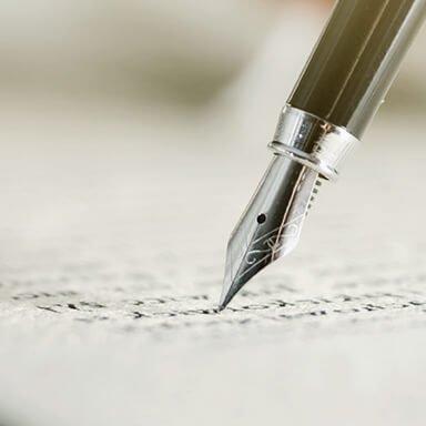 條款說明/正式簽約